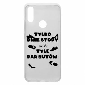 Phone case for Xiaomi Redmi 7 Only two feet but so many pairs of shoes - PrintSalon