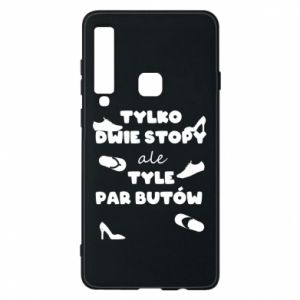 Phone case for Samsung A9 2018 Only two feet but so many pairs of shoes - PrintSalon