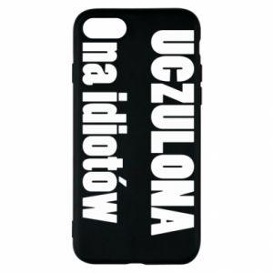Etui na iPhone SE 2020 Uczulona na idiotów