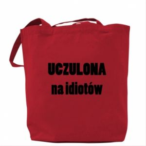 Bag Sensitive to idiots - PrintSalon