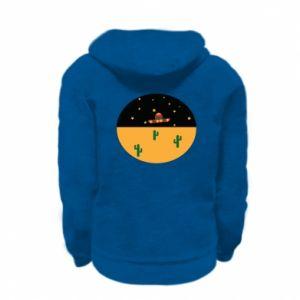 Bluza na zamek dziecięca UFO