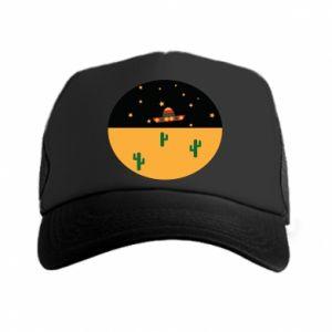Czapka trucker UFO