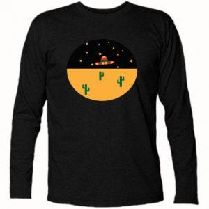 Koszulka z długim rękawem UFO - PrintSalon