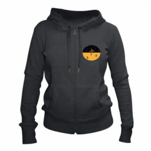 Damska bluza na zamek UFO - PrintSalon