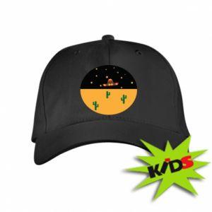 Dziecięca czapeczka z daszkiem UFO - PrintSalon