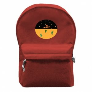 Plecak z przednią kieszenią UFO