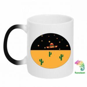 Kubek-kameleon UFO - PrintSalon