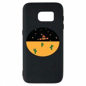 Etui na Samsung S7 UFO - PrintSalon