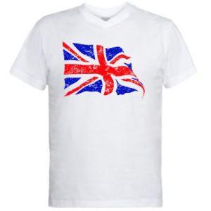 Men's V-neck t-shirt UK