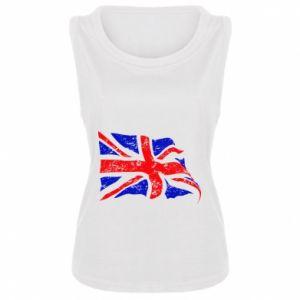 Damska koszulka bez rękawów UK