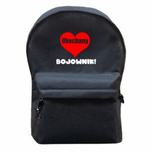 Plecak z przednią kieszenią Ukochany bojownik
