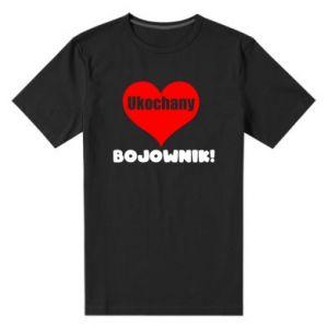 Męska premium koszulka Ukochany bojownik