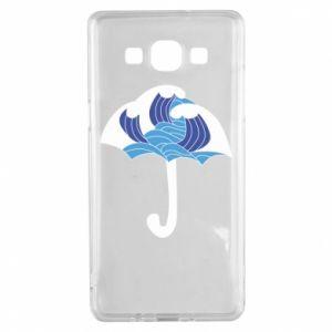 Etui na Samsung A5 2015 Umbrella with waves