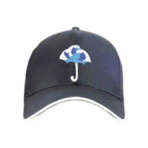 Cap Umbrella with waves