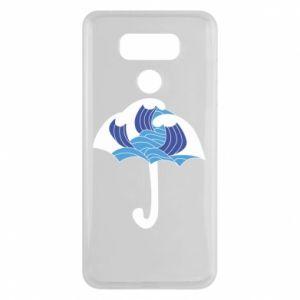 Etui na LG G6 Umbrella with waves