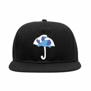 SnapBack Umbrella with waves