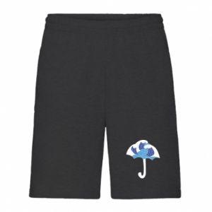 Men's shorts Umbrella with waves