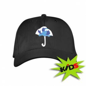 Kids' cap Umbrella with waves