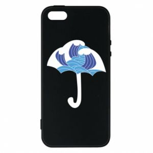 Phone case for iPhone 5/5S/SE Umbrella with waves