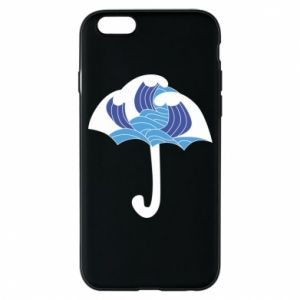 Phone case for iPhone 6/6S Umbrella with waves