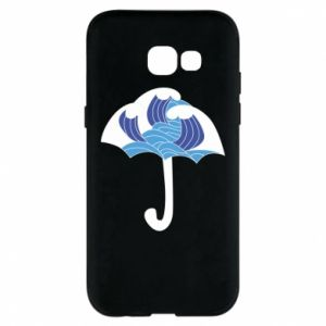 Phone case for Samsung A5 2017 Umbrella with waves