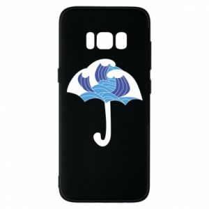 Phone case for Samsung S8 Umbrella with waves