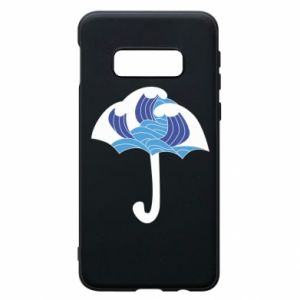 Phone case for Samsung S10e Umbrella with waves