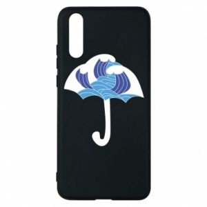 Phone case for Huawei P20 Umbrella with waves
