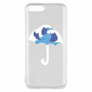 Phone case for Xiaomi Mi6 Umbrella with waves