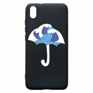 Phone case for Xiaomi Redmi 7A Umbrella with waves