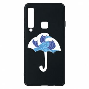 Phone case for Samsung A9 2018 Umbrella with waves