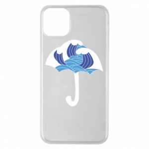Phone case for iPhone 11 Pro Max Umbrella with waves