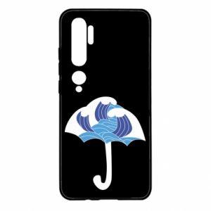 Etui na Xiaomi Mi Note 10 Umbrella with waves