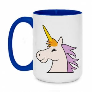 Kubek dwukolorowy 450ml Unicorn pleased with itself