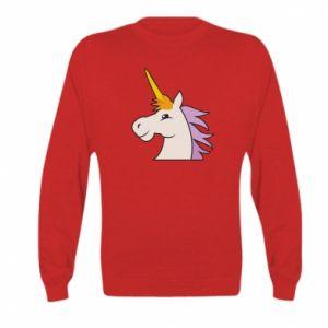 Bluza dziecięca Unicorn pleased with itself
