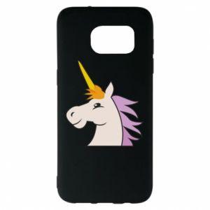 Etui na Samsung S7 EDGE Unicorn pleased with itself