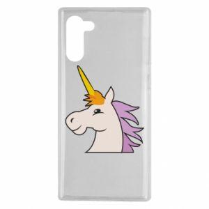 Etui na Samsung Note 10 Unicorn pleased with itself