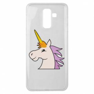Etui na Samsung J8 2018 Unicorn pleased with itself