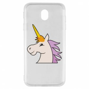 Etui na Samsung J7 2017 Unicorn pleased with itself