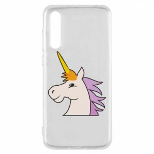 Etui na Huawei P20 Pro Unicorn pleased with itself