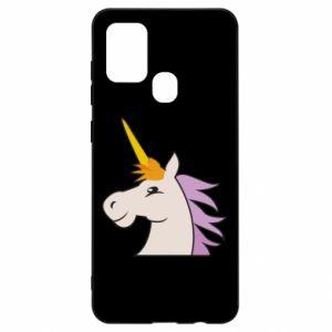Etui na Samsung A21s Unicorn pleased with itself
