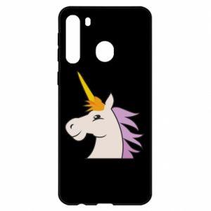Etui na Samsung A21 Unicorn pleased with itself