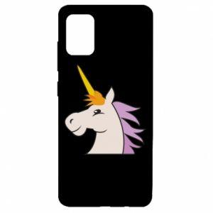 Etui na Samsung A51 Unicorn pleased with itself
