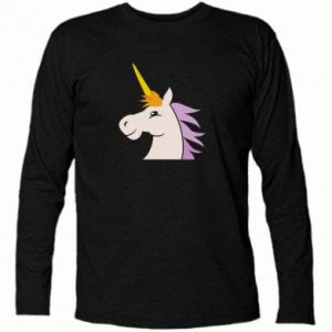 Koszulka z długim rękawem Unicorn pleased with itself