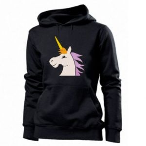 Women's hoodies Unicorn pleased with itself