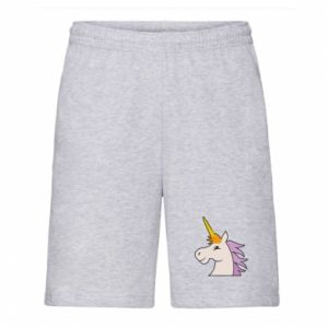 Men's shorts Unicorn pleased with itself