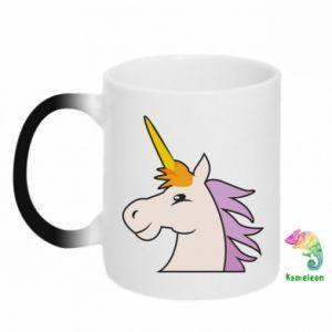 Kubek-kameleon Unicorn pleased with itself