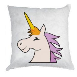 Poduszka Unicorn pleased with itself
