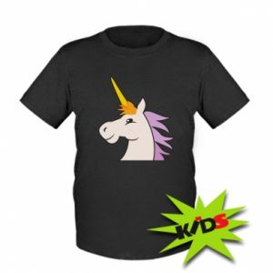 Dziecięcy T-shirt Unicorn pleased with itself