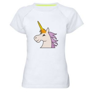 Koszulka sportowa damska Unicorn pleased with itself